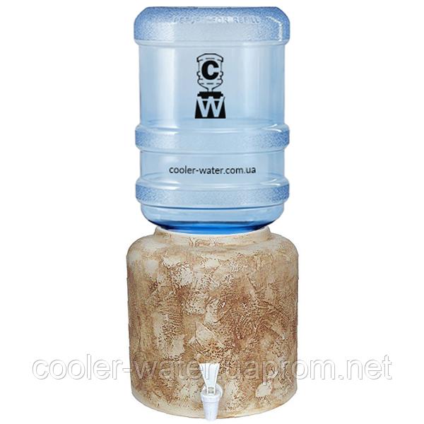 Керамический диспенсер для воды «Шамот»