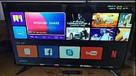 """Телевизор LED L34 32"""" Smart TV на Android 9.0 с Т2, HDMI и USB под SAMSUNG, Качественный телевизор смарт тв 4К"""