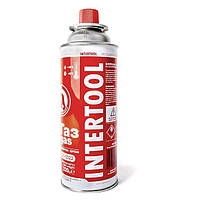 Баллон газовый Intertool 220г GS-0022