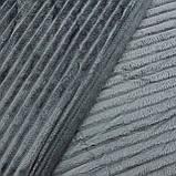 Однотонный плед рифленый однотонные покрывала из микрофибры серые, фото 3