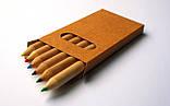 Набор цветных карандашей из 6 цветов., фото 5
