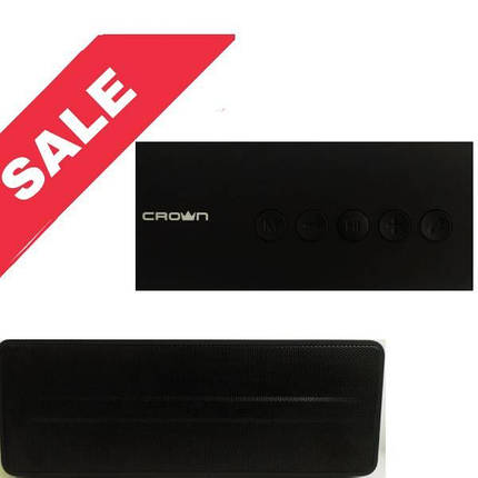 Портативна Bluetooth колонка Crown CMBS-302 (CMBL-611), Black, фото 2