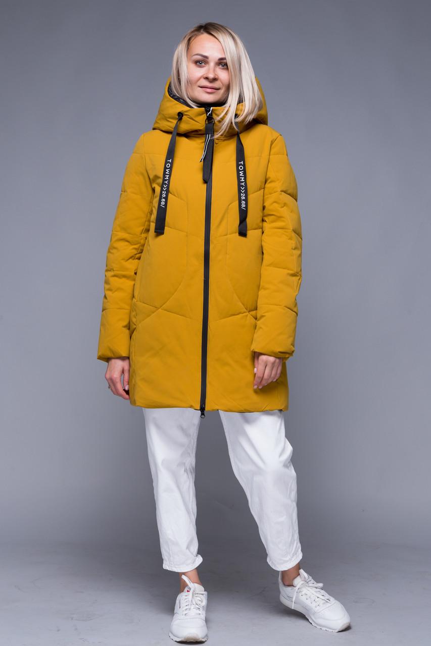 Пуховик TOWMY 2127 ginger yellow