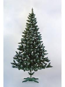 Новогодняя искусственная ель Лидия с инеем 1 метр
