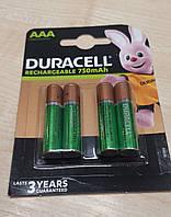 Акумулятор DURACELL RECHARGE DC2400 AAA/HR03 750mAh (4шт)