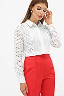 Біла блузка жіноча, фото 1