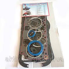 Прокладки двигателя Д-240 (41 наим) (рти, фторопласт) Паронит пр-ка картера,клап. крышки, колпака, ГБЦ гермет