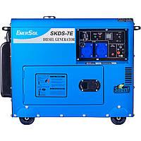Генератор дизельный EnerSol SKDS-7EB, фото 1