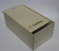 Деревянная коробка, подарочная упаковка 35*20*14 см