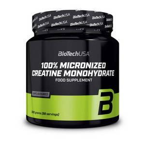 100% Creatine Monohydrate (300 g, unflavored) BioTech