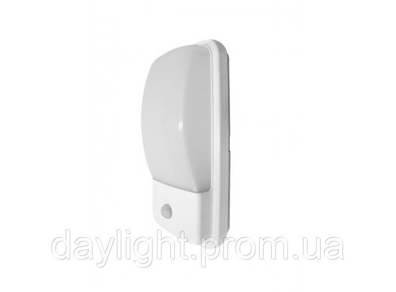 Герметичный LED светильник с датчиком движения ЖКХ 20W 4000K Luxel WPOS-20N