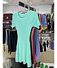 Платье трикотажное с коротким рукавом, фото 5