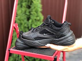 Черные Кроссовки женские стильные кожаные прес кожа деми, фото 2