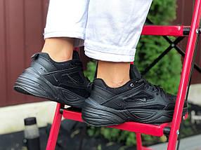 Черные Кроссовки женские стильные кожаные прес кожа деми, фото 3