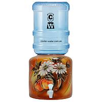 Керамический диспенсер для воды «Яблоко Коричневое», фото 1
