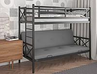 Кровать двухъярусная с диваном Герда 3