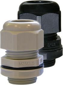 Ввод кабельный IP68 PG21 (черный) Haupa
