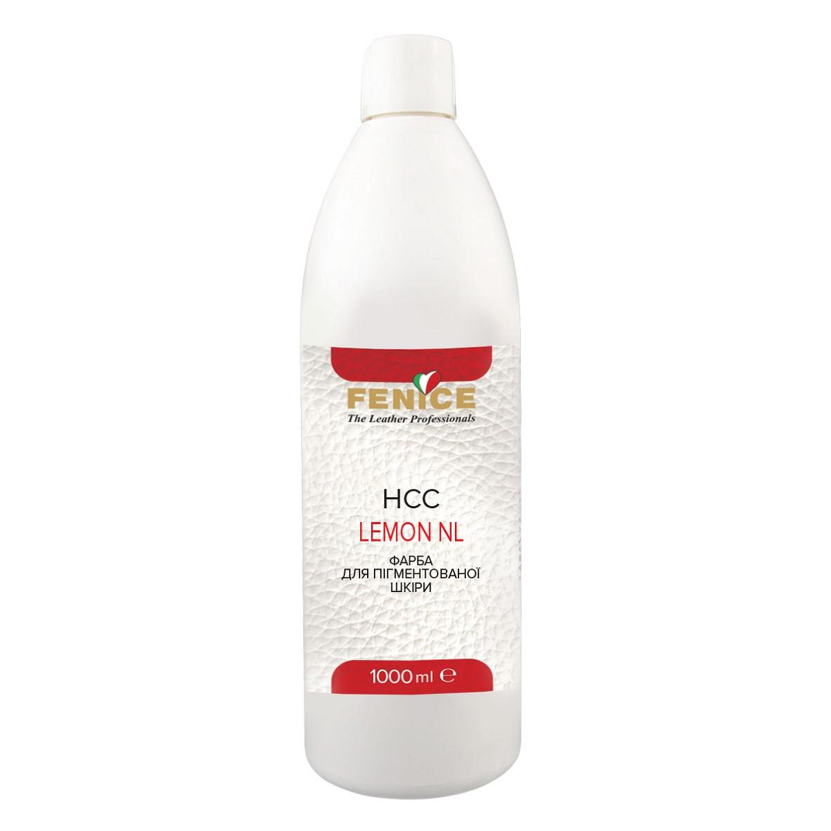 Краска для кожи лимонная Fenice Lemon NL HCC, 1 L