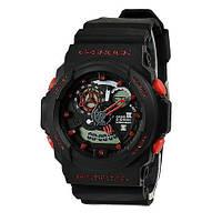 Спортивные наручные часы Casio G-Shock GA 300 Black-Red