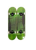 Скейт скейтборд Explore Trick зелений, фото 1