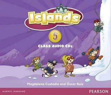 Islands 5 Class Audio CDs