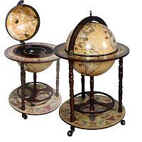 Глобус-бар напольный JUFENG d=42 см (42001N)
