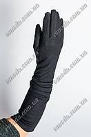Длинные кашемировые перчатки жатка