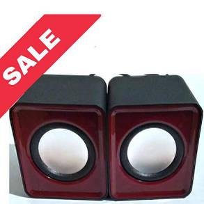 Колонки USB G104/G101 Black&Red, фото 2