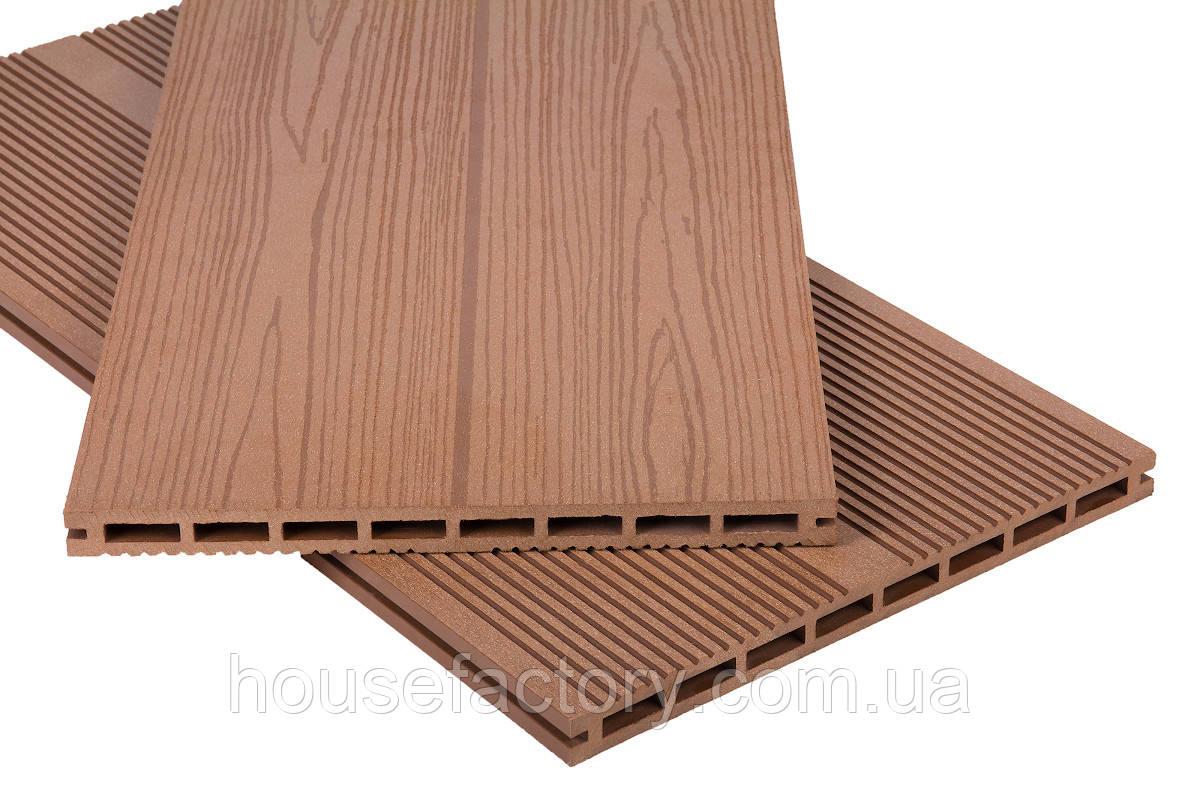 Террасная доска Polymer & Wood «Privat» Мербау