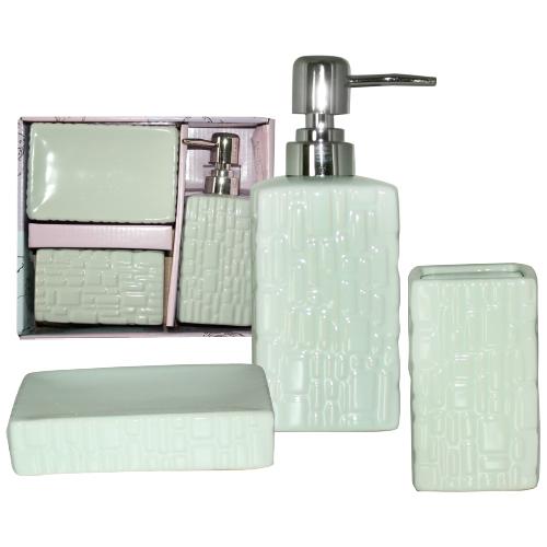 """Керамический набор для ванной комнаты S&T """"Аквамарин"""""""