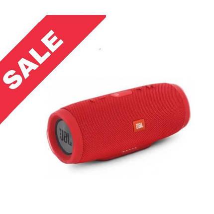 """Портативна Bluetooth колонка """"JBL CHARGE 3"""" Waterproof Red, фото 2"""