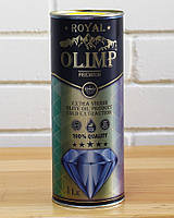 Масло оливковое первого отжима Extra Virgin Olive Oil OLIMP ROYAL Blue, 1 л (Греция)