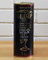 Масло оливковое первого отжима Extra Virgin Olive Oil Gold Extraction OLIMP BLACK LABEL, 1 л (Греция)