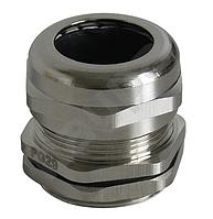 Ввод кабельный PG13.5 под кабель (6-12мм) IP68 латунный (Haupa) 250636