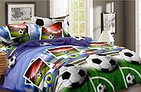 Комплект постельного белья Футбол из Ранфорса полуторный