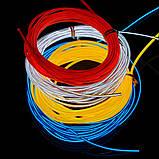 Гибкий светодиодный Неон 3м, толщина 2.3мм  желтый, фото 4