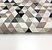 """Польская хлопковая ткань """"треугольники бежевые мелкие 25мм"""", фото 2"""
