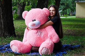 Плюшевий Ведмедик Потап 150 см Рожевий