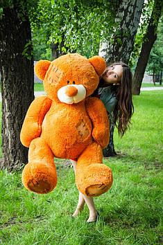 Плюшевий ведмедик Потап 150 см Карамельний