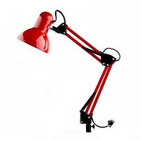 Настольная лампа для мастера маникюра на струбцине E 27 MAX 40 ВТ.
