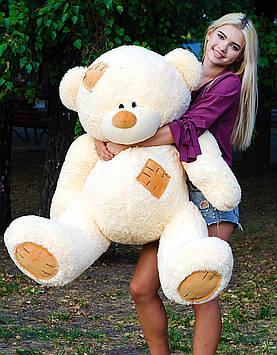 Плюшевий ведмедик Потап 150 см Персиковий