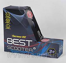 Самокат трюковый Best Scooter (ПЕГИ) HIC-система, алюм диск и дека с ПРИНТОМ, колёса PU, d=110 ширина руля 58, фото 3