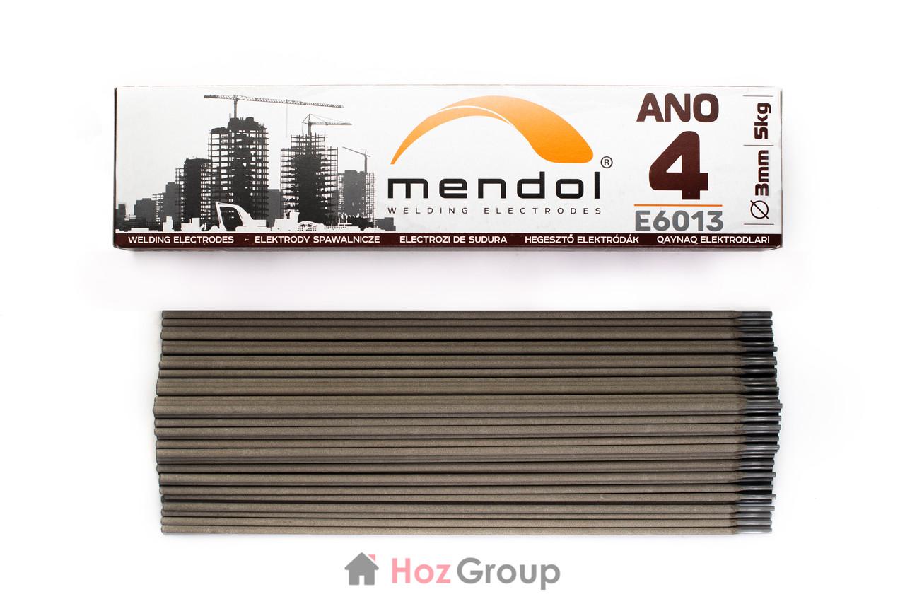 Электроды АНО-4 3мм 5кг Mendol