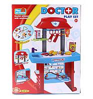 Детский набор доктора со столиком и медицинскими инструментами