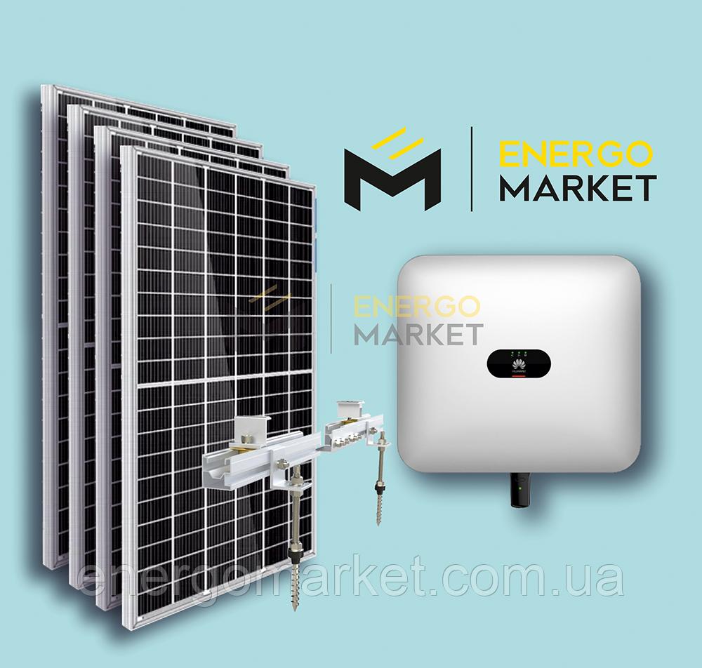 Сетевая солнечная станция 20 кВт
