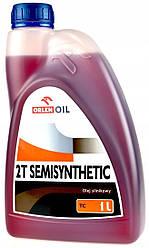 Масло моторне ORLEN SemiSynt 2T 1l (червона)