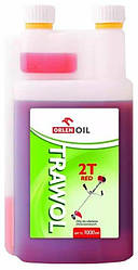 Масло моторное ORLEN  Trawol  2T с дозатором  1l (красная)