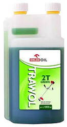 Масло моторное ORLEN  Trawol  2T с дозатором  1l (зеленая)