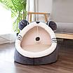 Лежанка домик с игрушкой для кошек и собак 40 см, фото 3