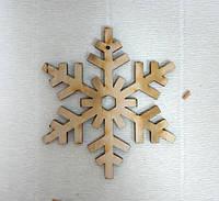 Подвеска Снежинка №9, 7см